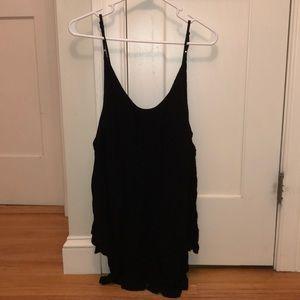 Off the shoulder tobi black dress